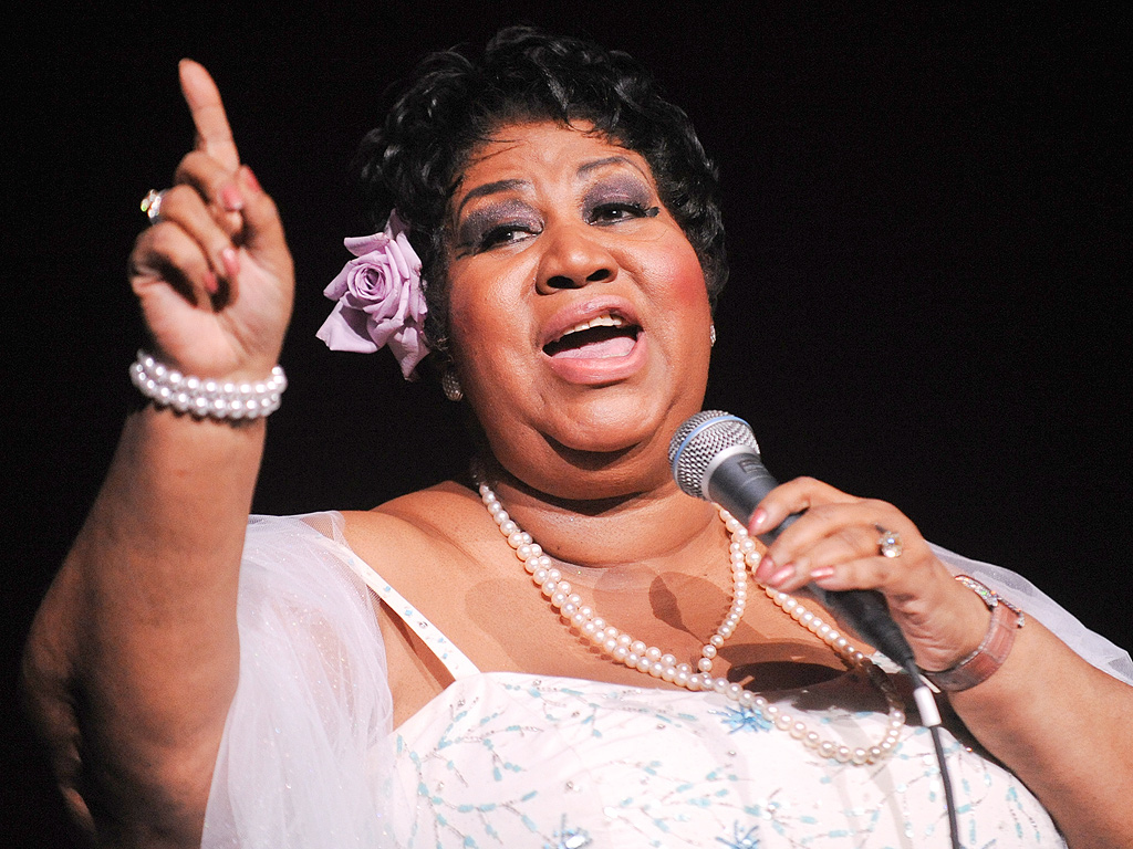Listen to Aretha Franklin Cover Adele's 'Rolling in the Deep' (VIDEO)