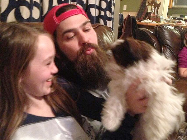 Jep and Jessica Robertson Get New Dog: Photo