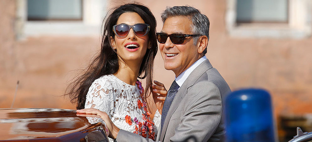 First Look:  Inside George and Amal's Romantic Venetian Wedding