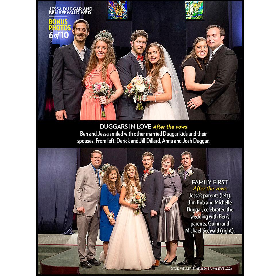 celebrity news jessa duggar seewald wedding invitation