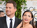 Globes Couples Show the Love | Channing Tatum