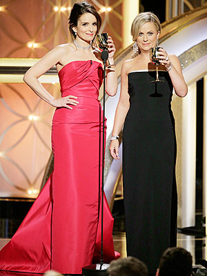 Tina Fey and Amy Poehler: Golden Girls of the Golden Globes