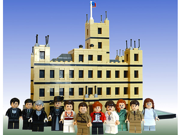 Downton Abbey LEGO Set Created by Eric Stevens