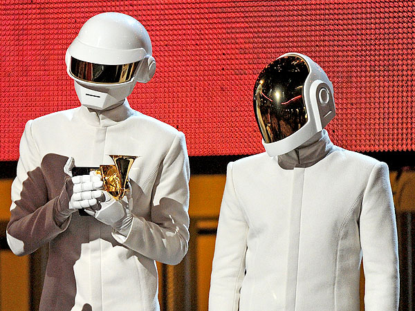 Daft Punk Without Helmets: See the Grammy-Winning Robots Unmasked