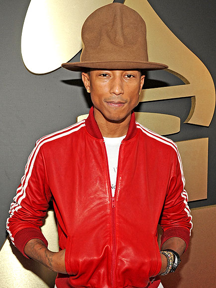 Pharrell Williams Auctioning Grammys Hat
