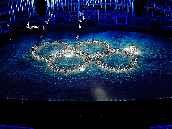 Sochi Closing Ceremony References Opening Ceremony 'Ring Fail'