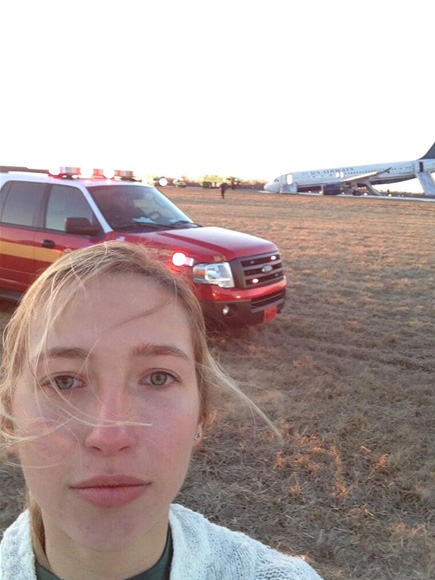 Selfie After Plane Crash: Hannah Udren Takes Video After Flight 1702 Crashes
