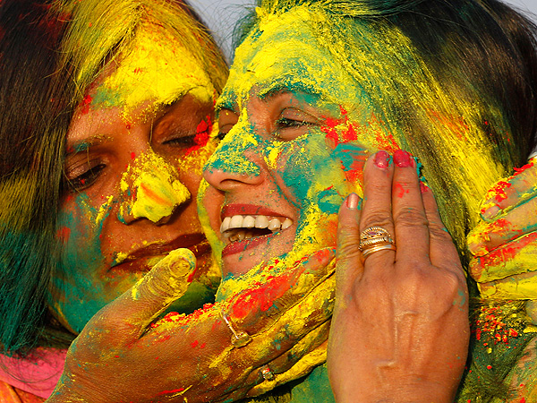 Pictures of India's Holi, or Festival of Colors