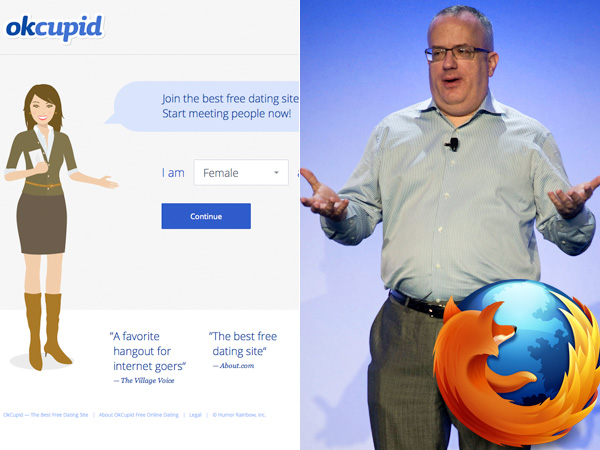 OkCupid Blocks Firefox Over CEO Brendan Eich's Prop 8 Support