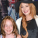 See the Cast of Mean Girls Hanging Out with Their Younger Selves | Mean Girls, Lindsay Lohan