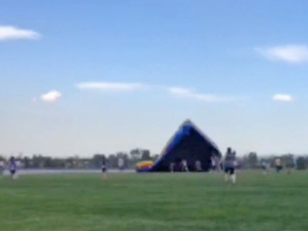 Bounce House Blows Away in Colorado, Children Injured