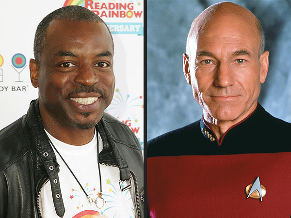 William Shatner, Patrick Stewart Help LeVar Burton's Reading Rainbow Campaign