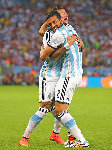 World Cup Photos; See the 13 Cutest Soccer Players Hugging Each Other