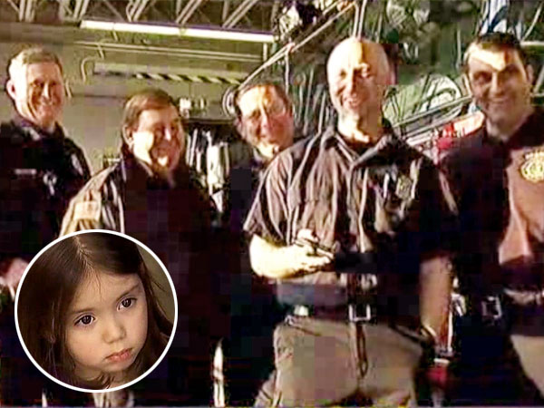 Firefighters Sing 'Let It Go' to Calm Girl Trapped in Elevator
