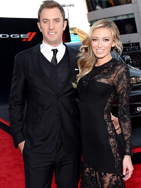 Paulina Gretzky comforts fiancé: Paulina Gretzky Dustin Johnson
