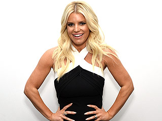Cute! Jessica Simpson's Daughter Mimics Mom with Swimsuit Pose
