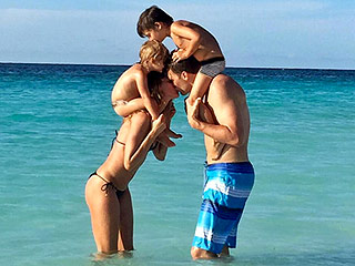 Gisele Bündchen Wishes Tom Brady a Happy Birthday with Sweet Family Photo