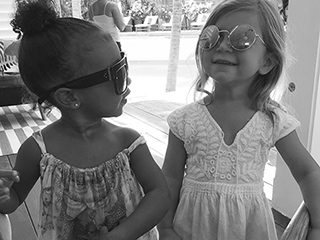 Cousins North and Penelope Have Another Adorable (and Fashionable) Playdate with Aunt Khloé Kardashian
