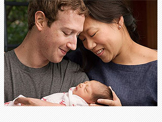 Mark Zuckerberg Welcomes Daughter Max – as He and His Wife Announce They Will Give Away 99 Percent of Their $45 Billion Fortune