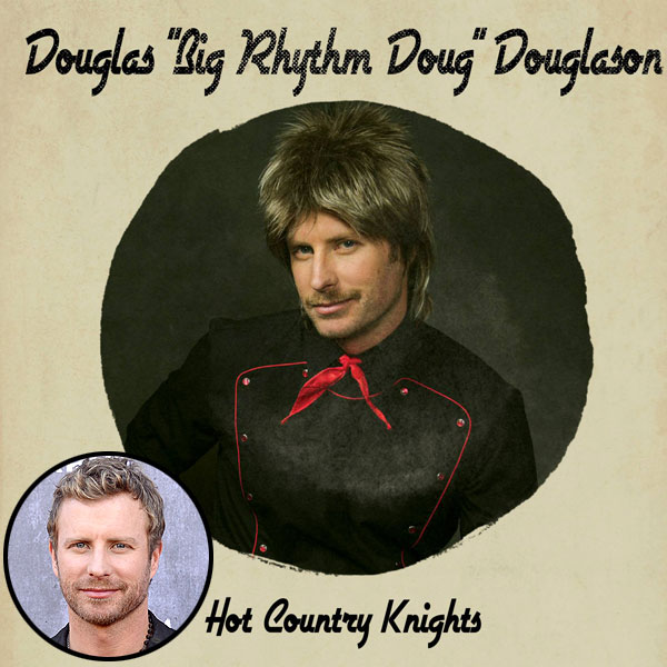 Dierks Bentley '90s Cover Band Hot Country Knights