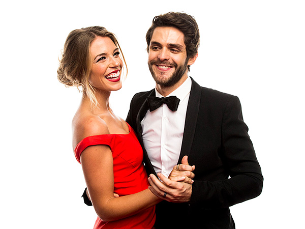 the adorable love story of thomas rhett and wife lauren