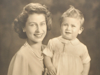 Historic Royal Photos for Sale! See Stunning Snaps of a Young Queen Elizabeth and Prince Charles