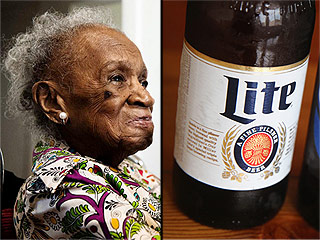110-Year-Old Woman Credits Longevity to ... Miller Lite?