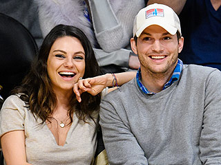 Ashton Kutcher and Mila Kunis Wear Lederhosen and Eat Sausages at Oktoberfest Party