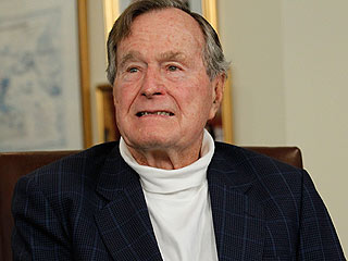 Former President George H.W. Bush Remains in Hospital
