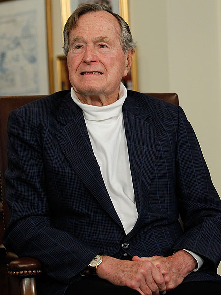 Former President George H.W. Bush Released from Hospital