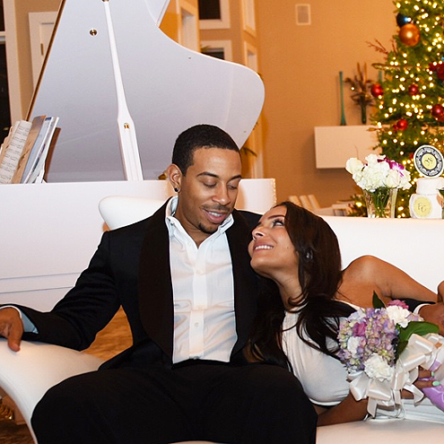 Ludacris Married to Eudoxie Mbouguiyengue