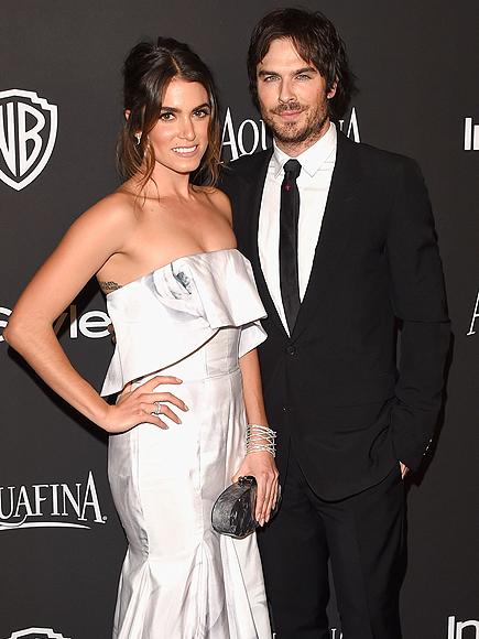 Ian Somerhalder, Nikki Reed Engaged