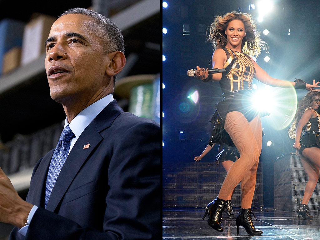President Obama to Beyoncé: Hire a Masseuse! - Barack ... Obama And Beyonce