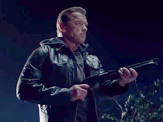 See Arnold Confront Himself, Literally, in the New Terminator Teaser Trailer (VIDEO)