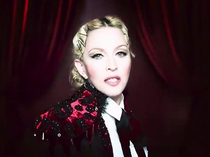 Madonna Debuts Video for    Madonna