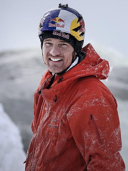 Canadian Adventurer Will Gadd Becomes the First to Climb Frozen Niagara Falls