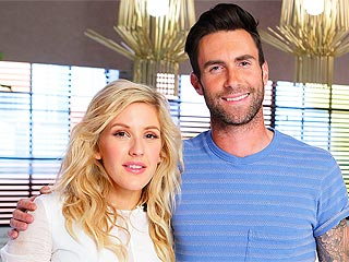 Ellie Goulding Joins The Voice As Adam Levine's Advisor