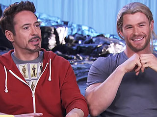 The Super-Dads of The Avengers Talk About Parenting (VIDEO)