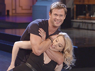 WATCH: Chris Hemsworth and Kate McKinnon Attempt the Dirty Dancing Lift in SNL promos