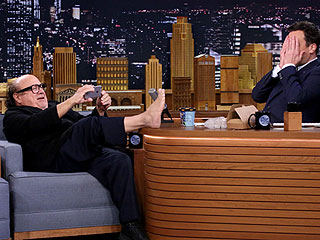 Danny DeVito Horrifies Jimmy Fallon with His 'Troll Foot' (VIDEO)