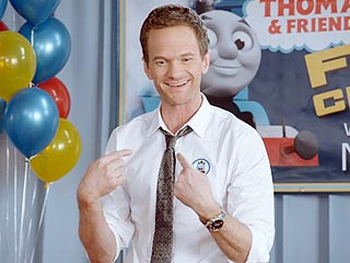 Watch Neil Patrick Harris Fight with Children Over Thomas the Tank Engine! (VIDEO)