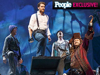 FIRST LOOK: See Matthew Morrison and Kelsey Grammer Take On Peter Pan in Broadway's Finding Neverland