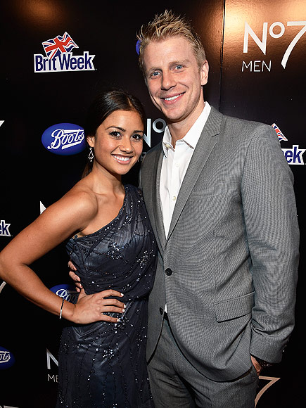 Sean Lowe and Catherine April Fools