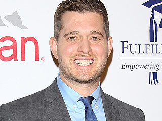 Watch Michael Bublé Bust a Move with Son Noah (VIDEO)