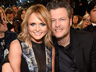 Miranda Lambert and Blake Shelton Share a Sweet Kiss While Supporting Little Big Town