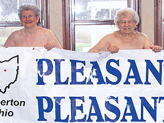Senior Citizens Go Bare in Calendar to Help Local Kids in Need