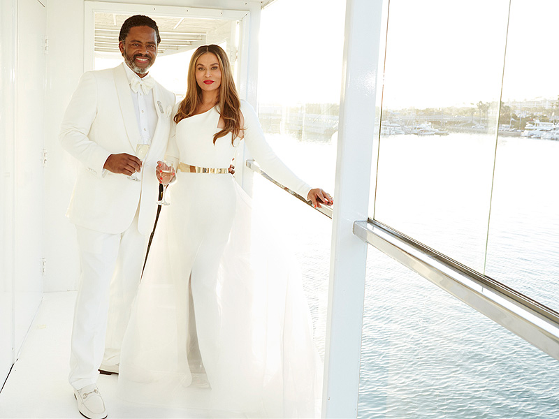Tina Knowles Marries Richard Lawson