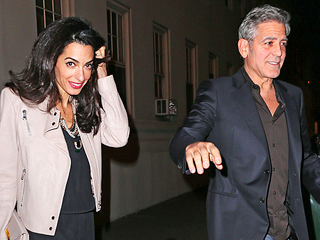 George and Amal Clooney Enjoy a Sweet Dinner Date in N.Y.C. – with Julia Roberts!