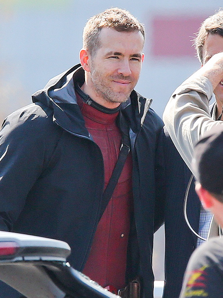 Ryan Reynolds on Deadpool Set in Vancouver: Photos