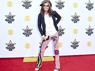 Yes, You Have to Take a Moment and Check Out Steven Tyler's Pants